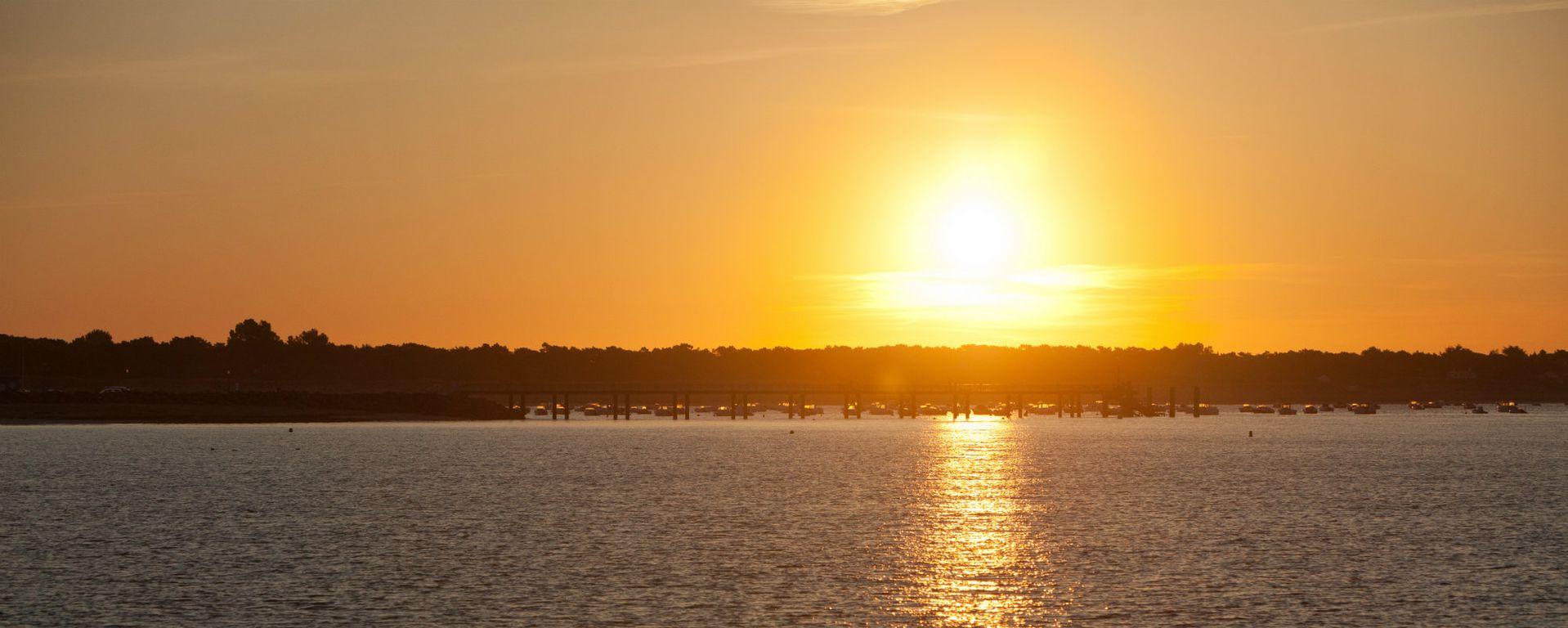 Levé de soleil à La Tranche sur Mer