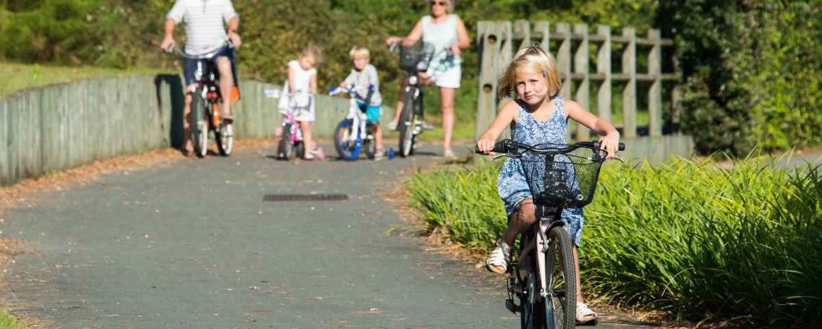 Pistes cyclables en Sud Vendée