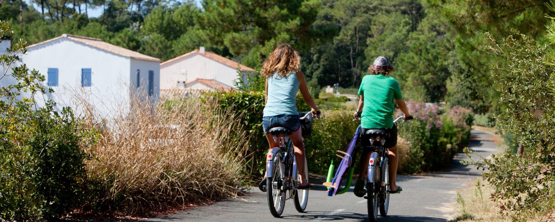 Nombreux itinéraires à vélo