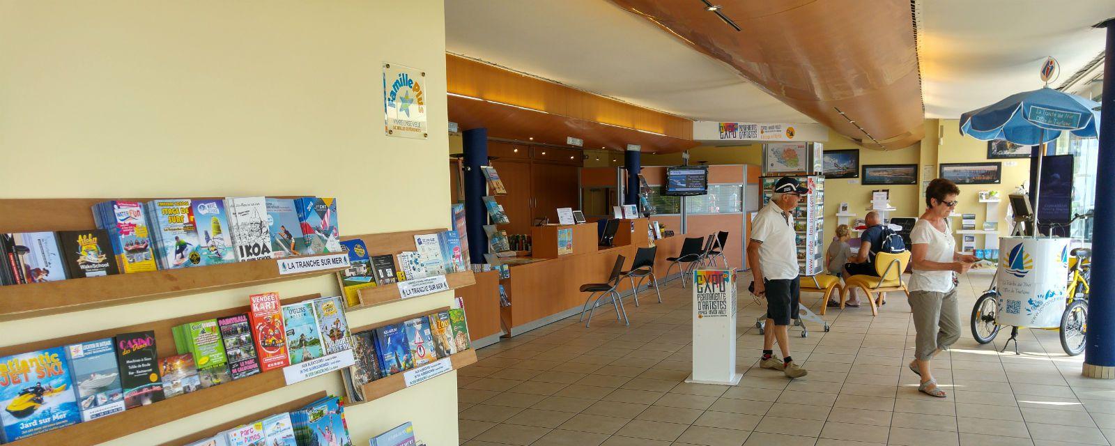 Venez chercher l'information à l'accueil de l'Office de Tourisme