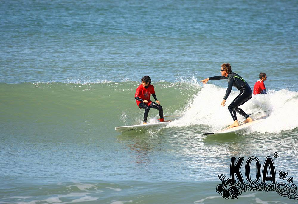 Initiation surf