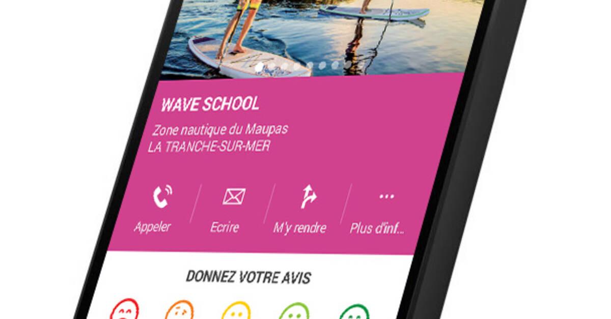 Application mobile la tranche sur mer office de tourisme de la tranche sur mer - Office du tourisme de la tranche sur mer ...